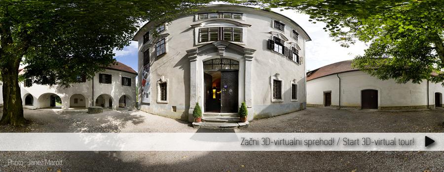 Grad Zaprice - Etnografski muzej kamnik